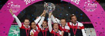 Victoire en Fed Cup